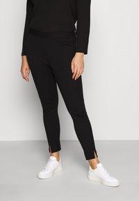 Vero Moda Curve - VMTAVA  - Leggings - Trousers - black - 0