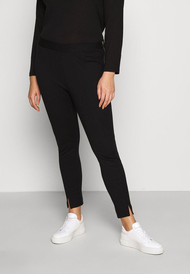 Vero Moda Curve - VMTAVA  - Leggings - Trousers - black