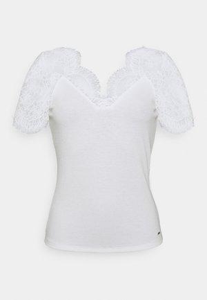 DENATA - Print T-shirt - off white