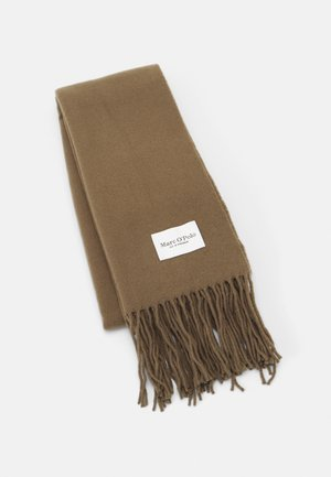 SCARF COSY TONAL LONG FRINGES - Scarf - nutshell brown
