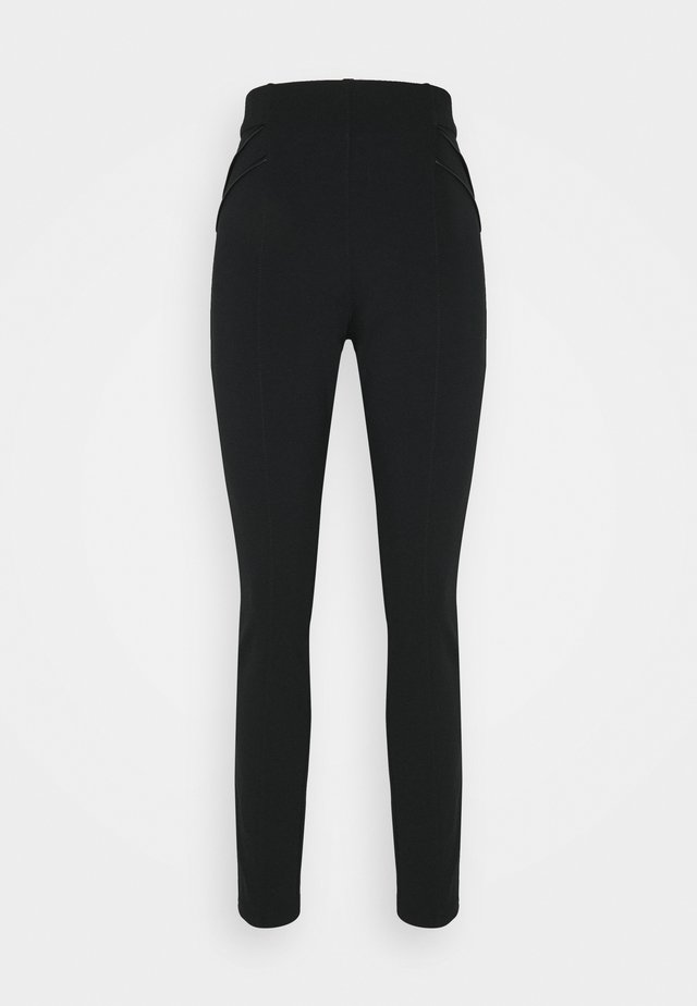 PONTE - Leggings - Trousers - black