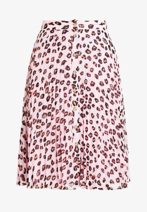 LEOPARD PRINT MIDI SKIRT - A-line skirt - multi-coloured