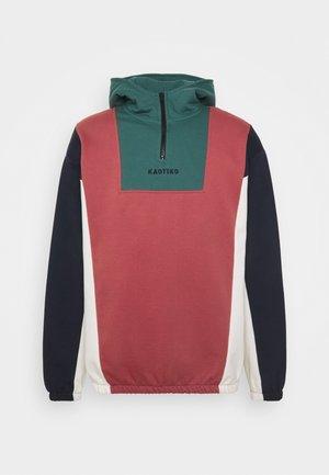 SUD CAP LOGAN - Sweatshirt - burgundy/heura