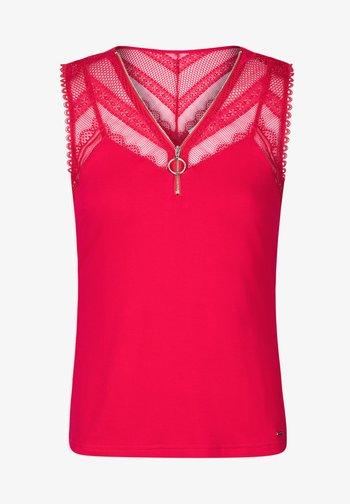 Blouse - mottled pink