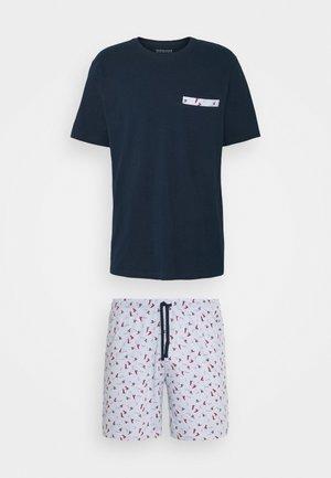 SCHLAFANZUG KURZ - Pyjama - hellblau
