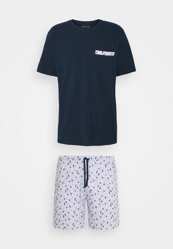 SCHLAFANZUG KURZ - Pyjama set - hellblau