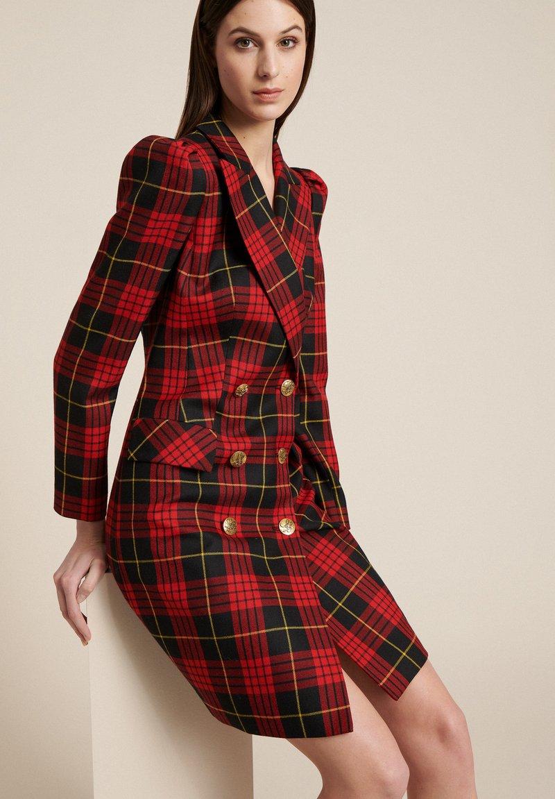 Luisa Spagnoli - GEMINI - Shirt dress - red, black