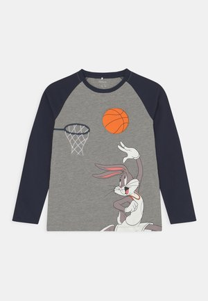 NMMSPACEJAM VIDAR  - T-shirt à manches longues - grey melange