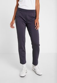 Nike Golf - WOMEN NIKE POWER PANT SLIM  - Trousers - gridiron - 0