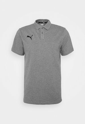 TEAMGOAL CASUALS - Polo shirt - medium gray heather