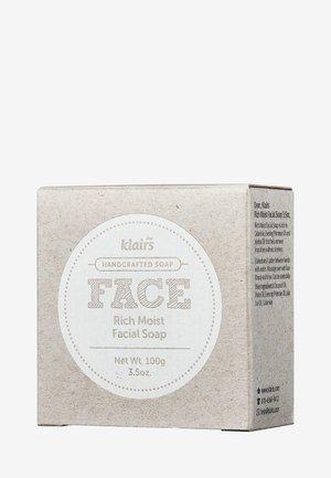 FACE RICH MOIST FACIAL SOAP - Soap bar - -
