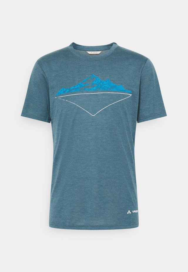 MENS TEKOA - T-shirt con stampa - baltic sea