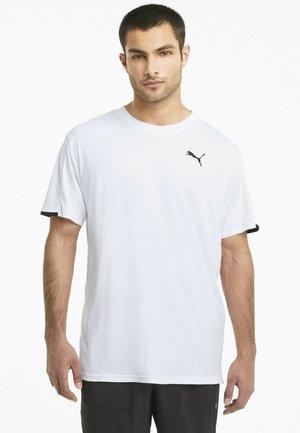 GRAPHIC  - Print T-shirt - puma white