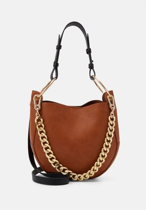 BARLO CROSSBODY BAG - Handbag - cognac