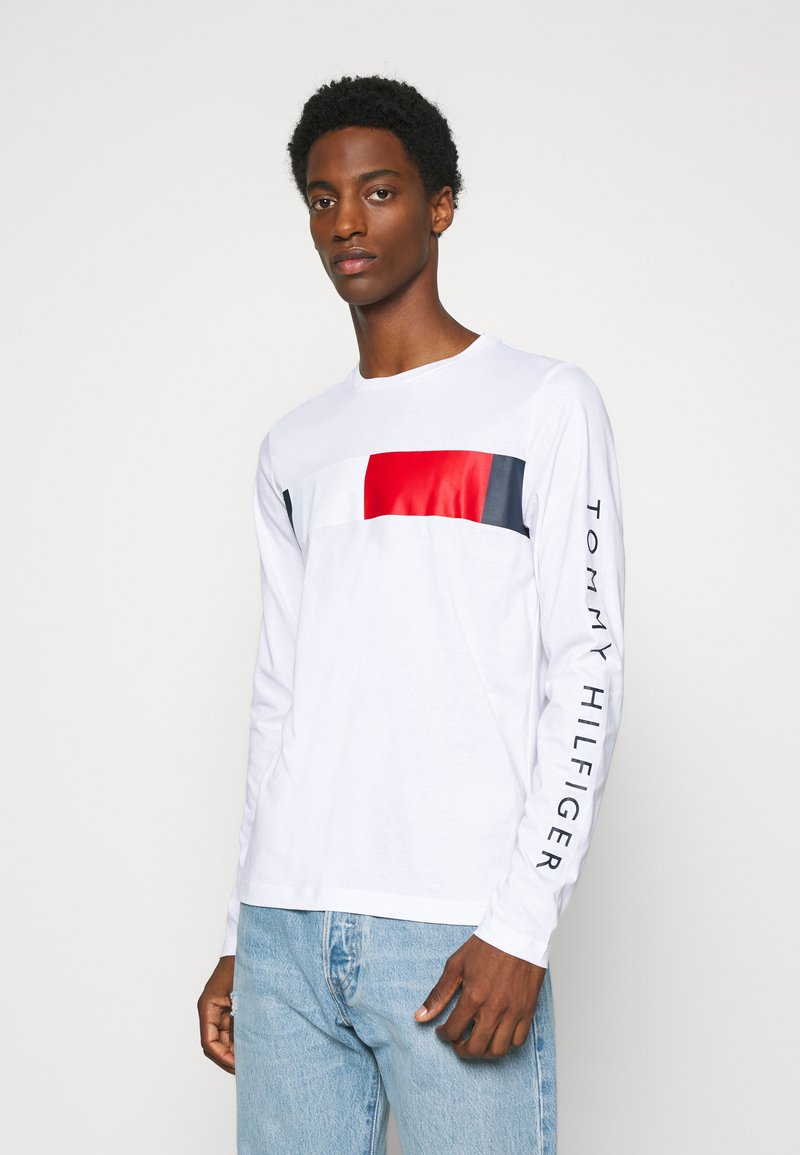 Tommy Hilfiger - BRANDED - Long sleeved top - white