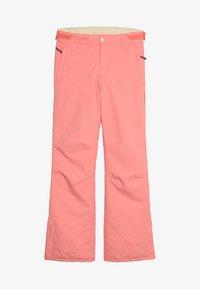 Brunotti - SUNLEAF GIRLS SNOWPANTS - Talvihousut - desert pink - 4
