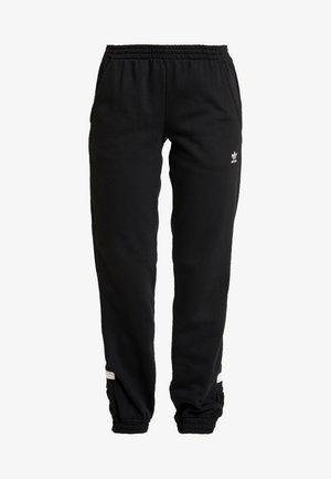 LARGE LOGO ADICOLOR SPORT PANTS - Træningsbukser - black/white