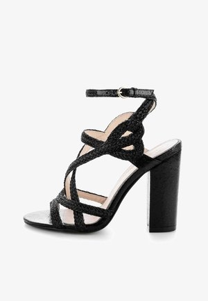 MARZOLARA - High heeled sandals - black
