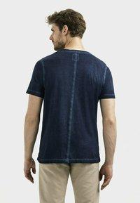 camel active - KURZARM  - Basic T-shirt - dark blue - 2