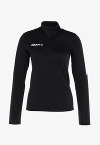 Craft - PROGRESS HALFZIP TEE - Sportswear - black - 4
