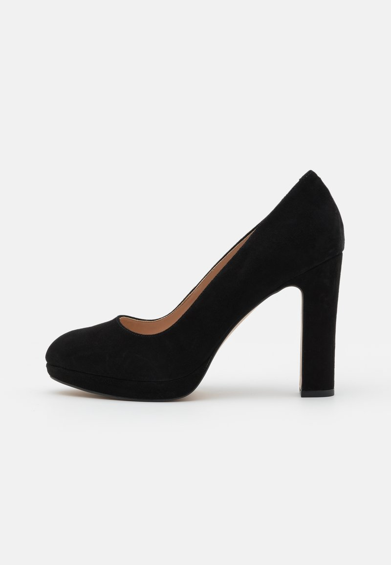 Dune London - AUTUMN - Platform heels - black