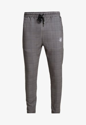 SMART JOGGER PANT - Trousers - beige dogtooth