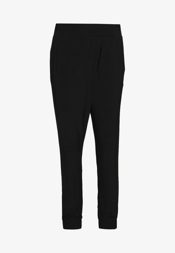 LANG - Trousers - black