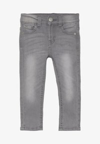 Esprit - PANTS - Slim fit jeans - mid grey denim - 2