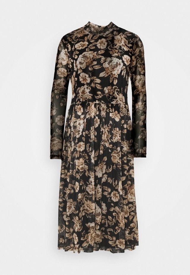 VILOMASI MIDI DRESS - Day dress - black