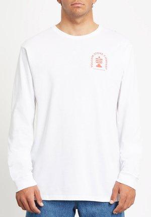 CULTUREVATE BSC LS - Maglietta a manica lunga - white