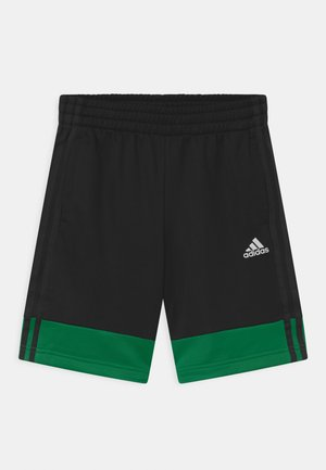 UNISEX - Sports shorts - black/green
