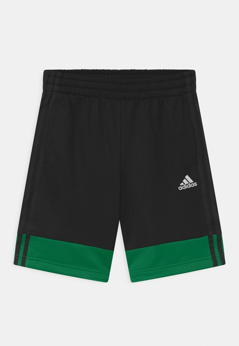 adidas Performance - UNISEX - kurze Sporthose - black/green