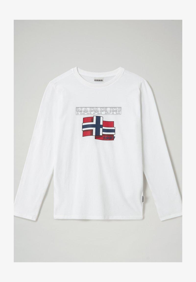 Napapijri - Long sleeved top - bright white 002