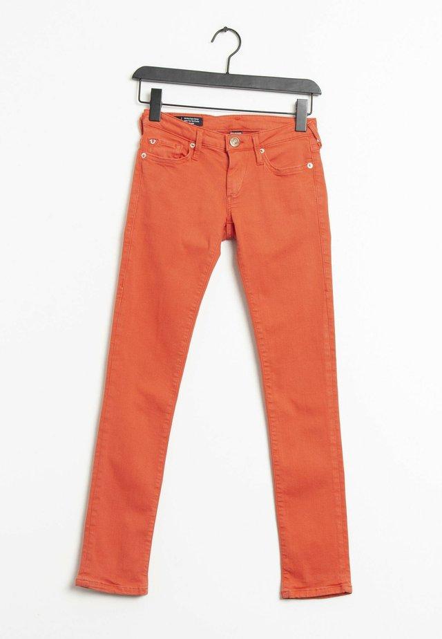 Vaqueros slim fit - orange