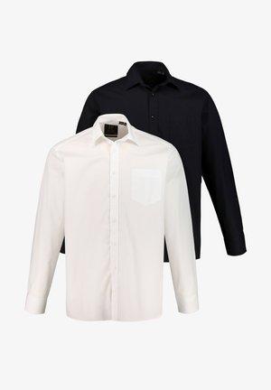2 PACK - Formal shirt - black/white