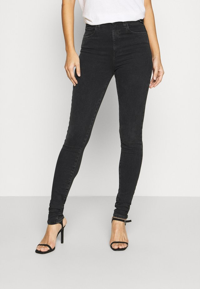 LEYLA HYPERFLEX RE-USED - Jeans Skinny Fit - dark grey