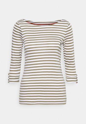 NOOS COO TEE - Long sleeved top - light khaki