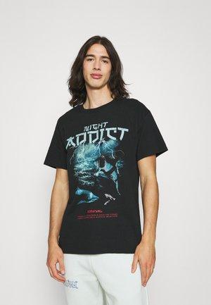 SURVIVE - Print T-shirt - black