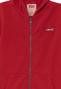 Levi's® - ZIP UP HOODIE - Felpa aperta - red - 3