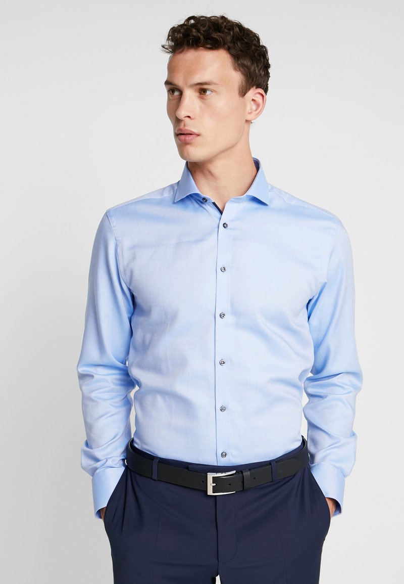 Bruun & Stengade - BARLOW - Formální košile - light blue