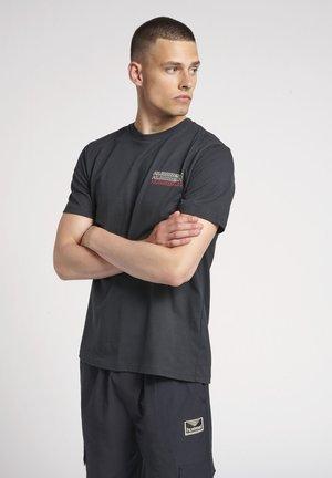 CHRISTOFFER - Print T-shirt - dark navy