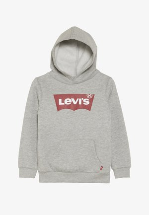 BATWING SCREENPRINT HOODIE - Jersey con capucha - grey heather