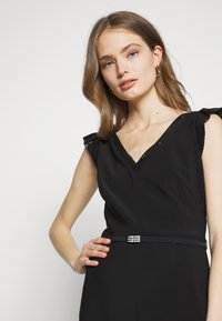 Lauren Ralph Lauren - BONDED DRESS - Jersey dress - black - 4