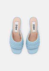Zign - Heeled mules - blue - 5