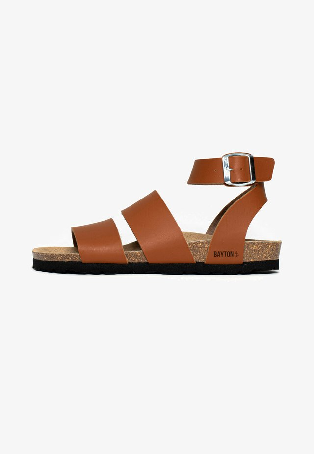 SORIA - Sandales classiques / Spartiates - camel