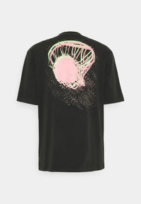 Jordan - WASH - T-shirt imprimé - black/sunset pulse - 1