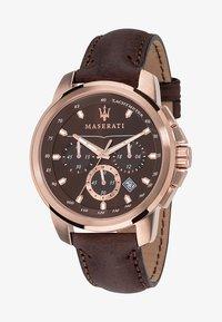 Maserati - SUCCESSO - Chronograph watch - rose gold-coloured - 0