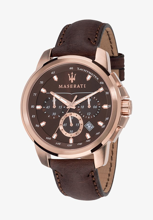 SUCCESSO - Chronograph watch - rose gold-coloured