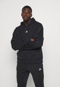adidas Performance - Hoodie - black - 0