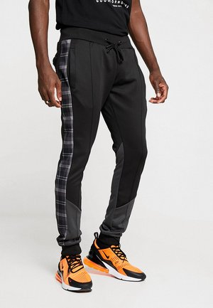 TILLER - Trainingsbroek - black/grey